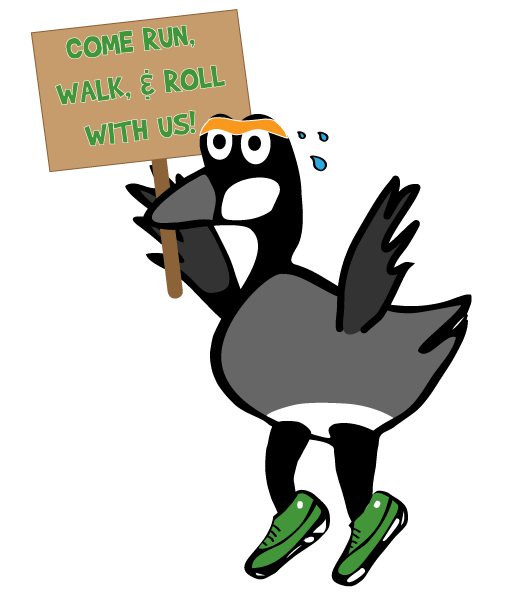 mothergoose-with-sign-COME-RUN-WALK-AND-ROLL-WITH-US