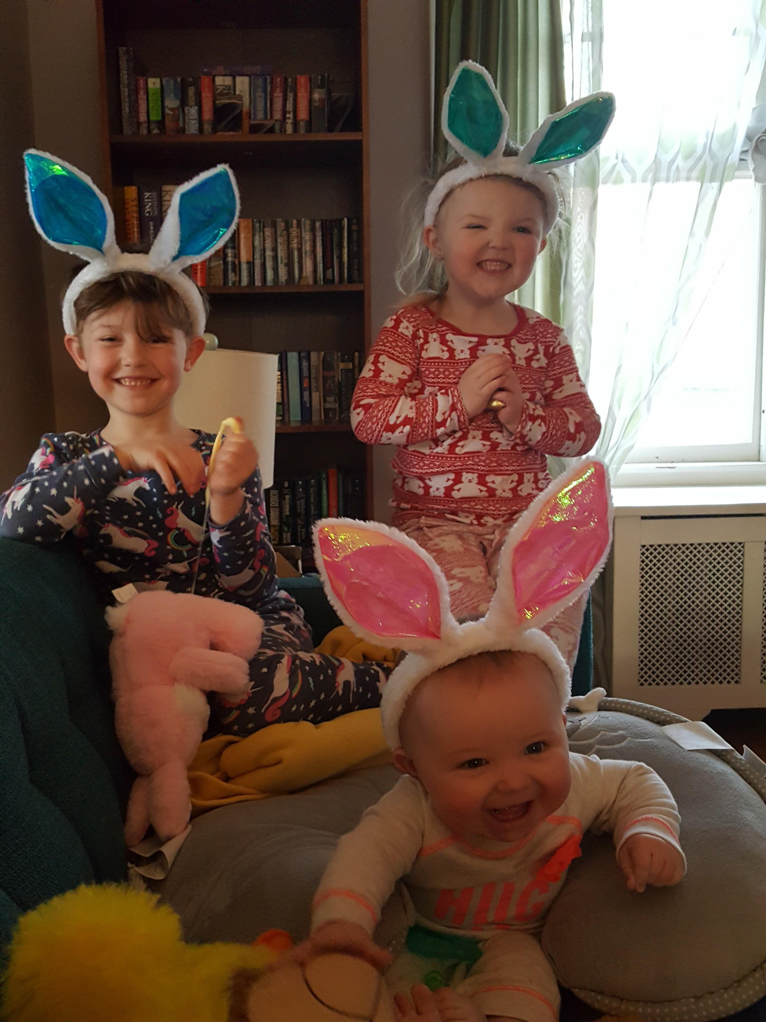Evie and siblings
