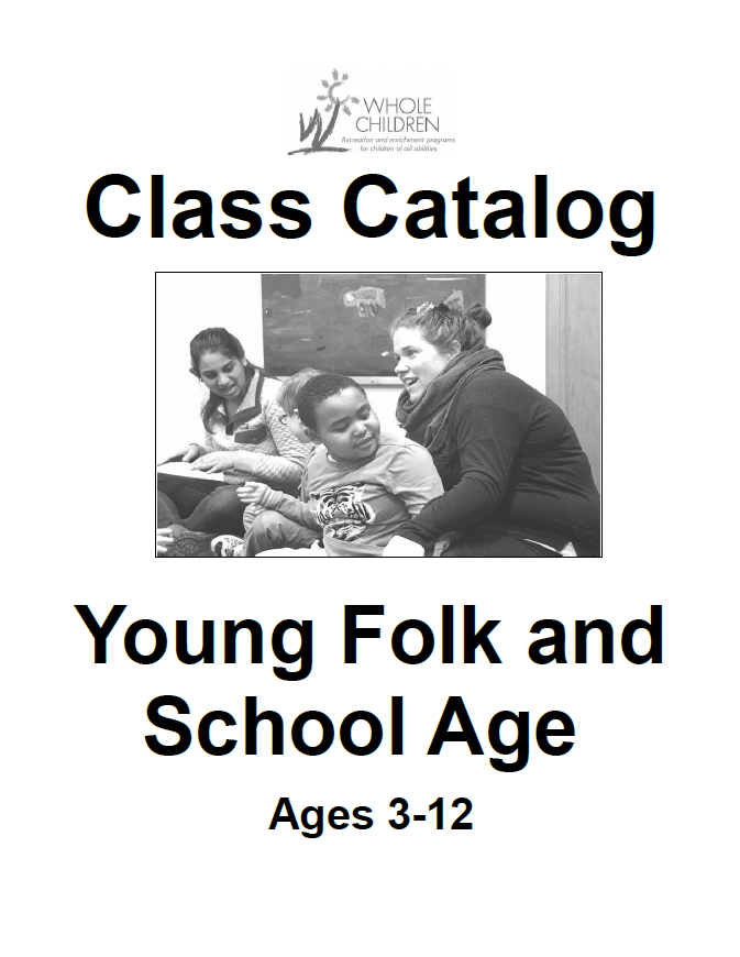 School age Winter Catalog Accessible