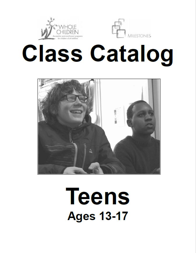 Teens Winter Catalog Accessible