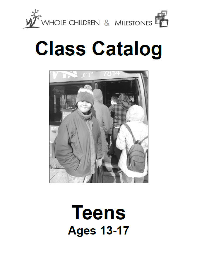 Teens Accessible Catalog Winter 2020
